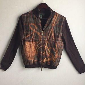 Lauren Ralph Lauren silk and cashmere sweater S.